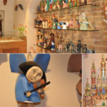 Drewniane ręcznie tworzone anioły i szopki bożonarodzeniowe dobre na prezent